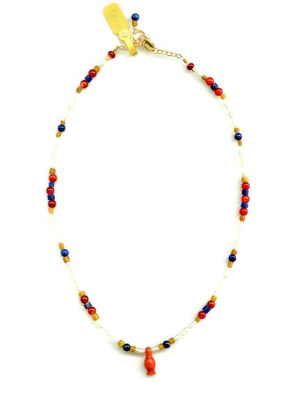 N224 Tell El-Amarna Lotus Bud Bead